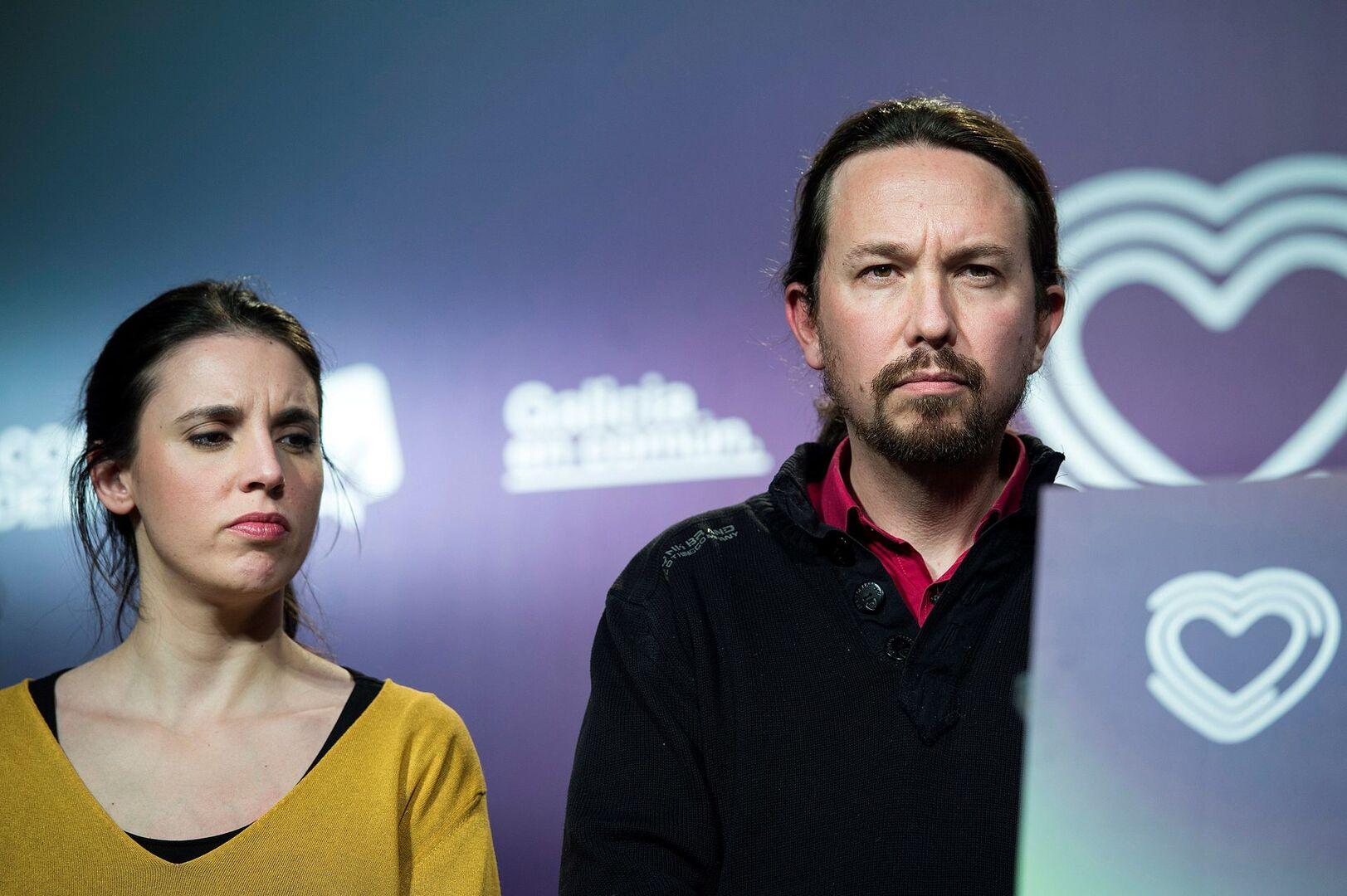 Iglesias Y Montero Disparan Sus Sueldos Con El Nuevo Sistema Salarial De Podemos Libre Mercado