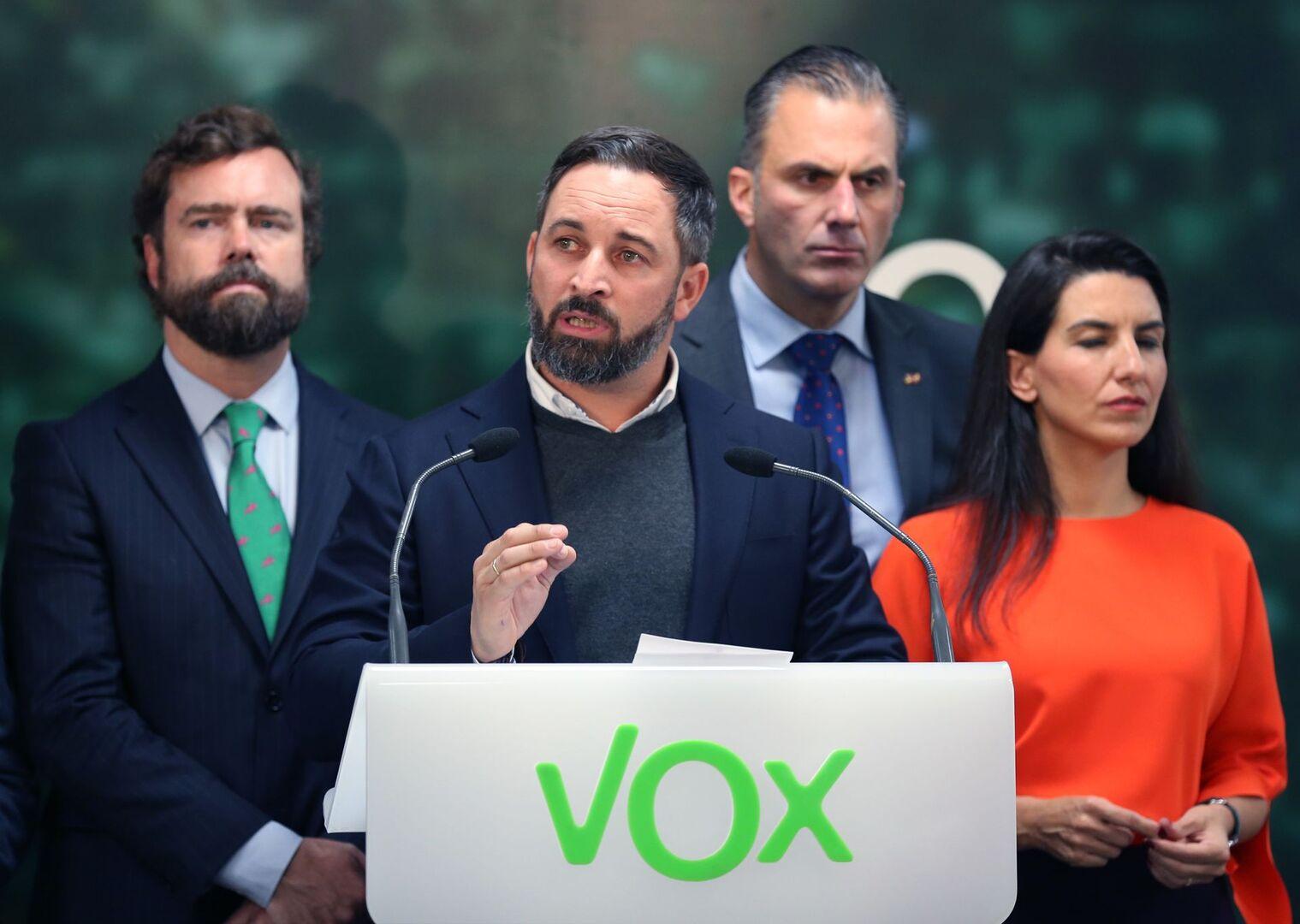 [VOX] SANTIAGO ABASCAL: El gobierno catalán no ha parado de destruir, por ello es más necesario que nunca la aplicación del 155 Santiago-abascal