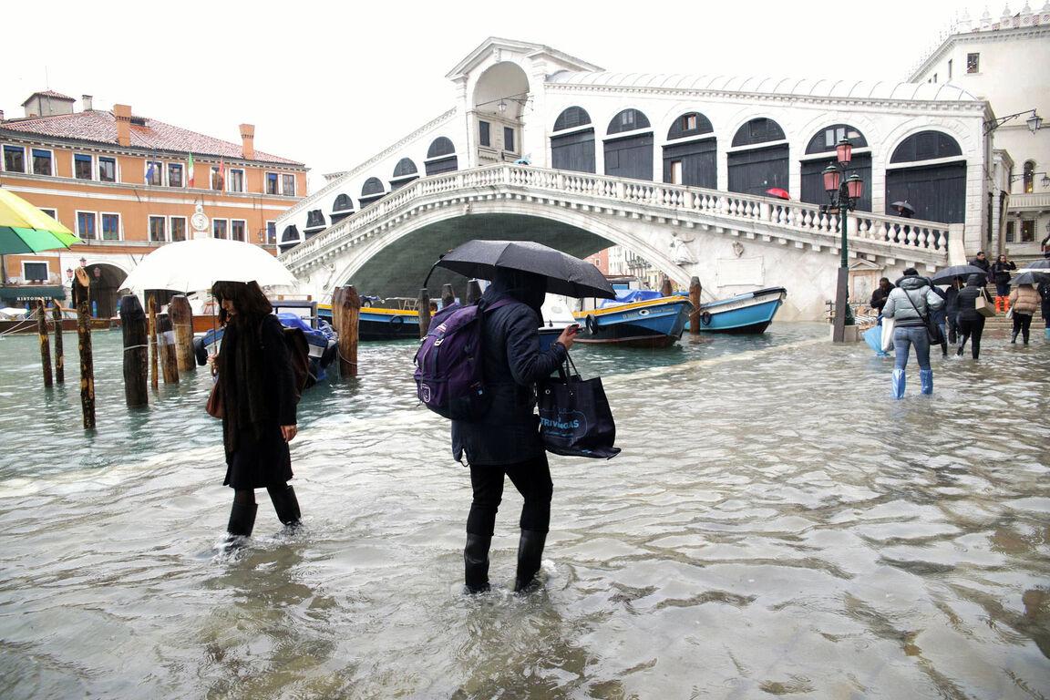 Seguro que has visto Venecia inundada ¿Pero la conoces sin agua? Inundaciones-venecia-noviembre-2019-1