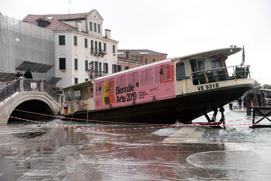 Seguro que has visto Venecia inundada ¿Pero la conoces sin agua? Inundaciones-venecia-noviembre-2019-5