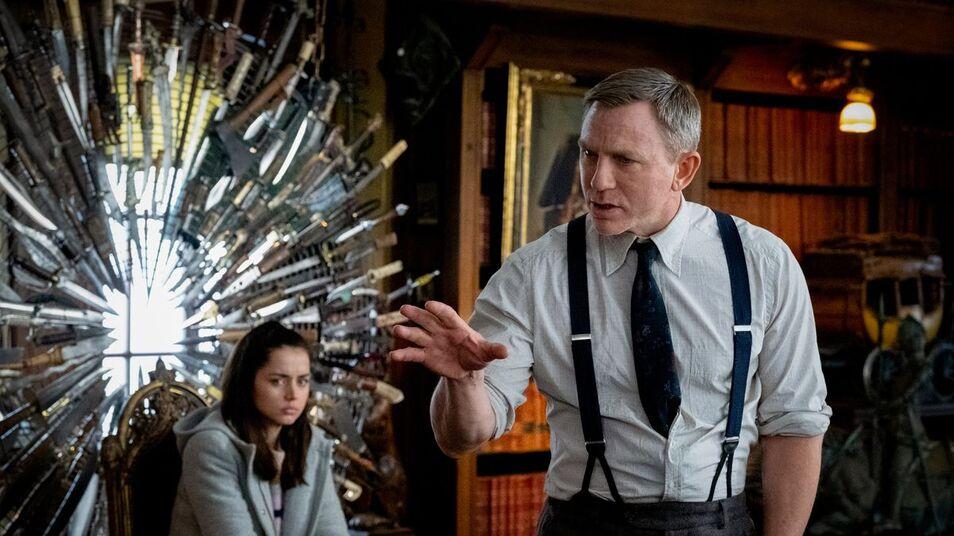 Crítica: 'Puñales por la espalda', con Daniel Craig y Ana de Armas