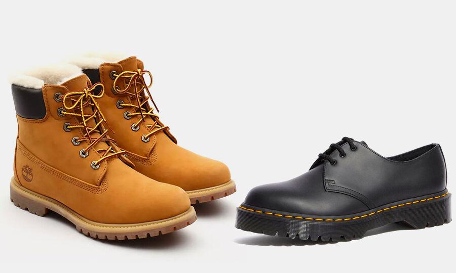 traje Humano condado  De Timberlad a Dr.Martens: el furor por el calzado de moda dispara sus  imitaciones 'low cost' - Libre Mercado