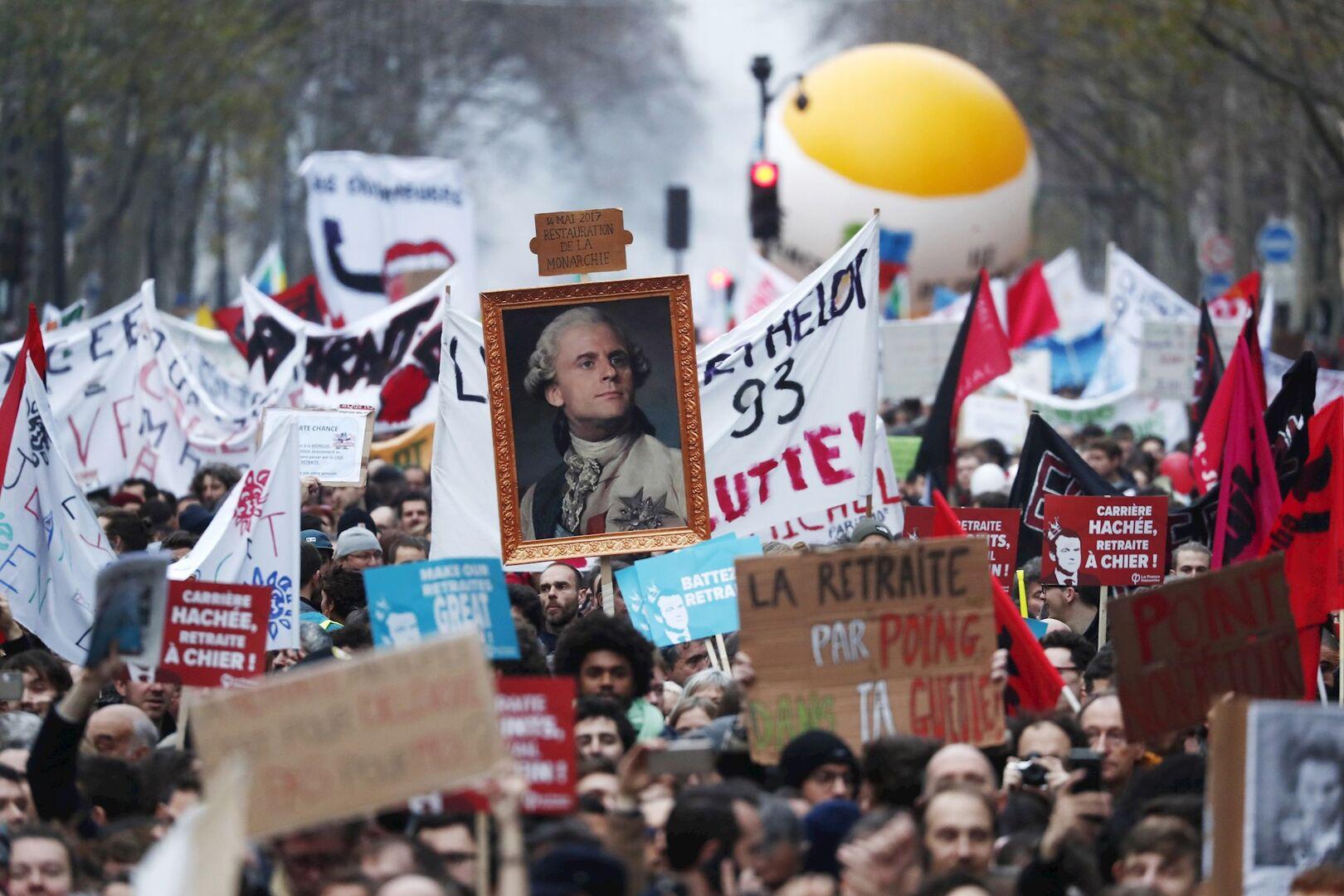 Resultado de imagen de El Ejecutivo de Francia suaviza su reforma de las pensiones