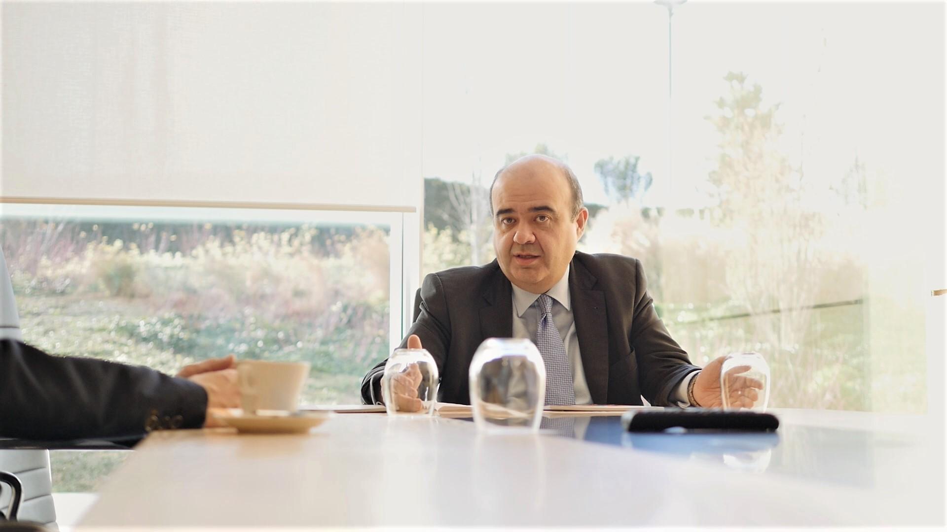 Julio González Ronco, durante un momento de la entrevista a Libertad Digital. | LDTV