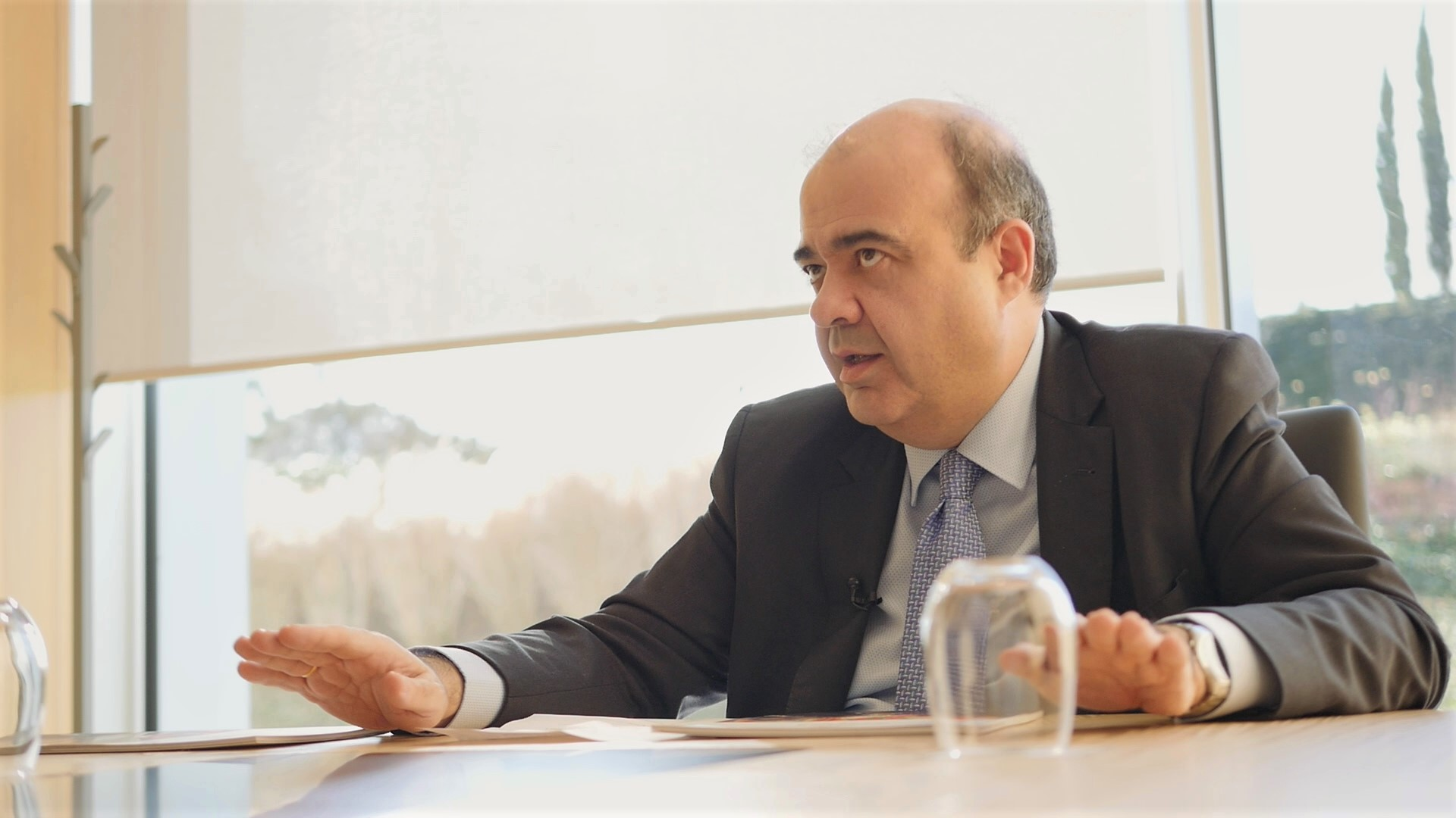González Ronco explica a Libertad Digital el funcionamiento de la Fundación Real Madrid. | LDTV