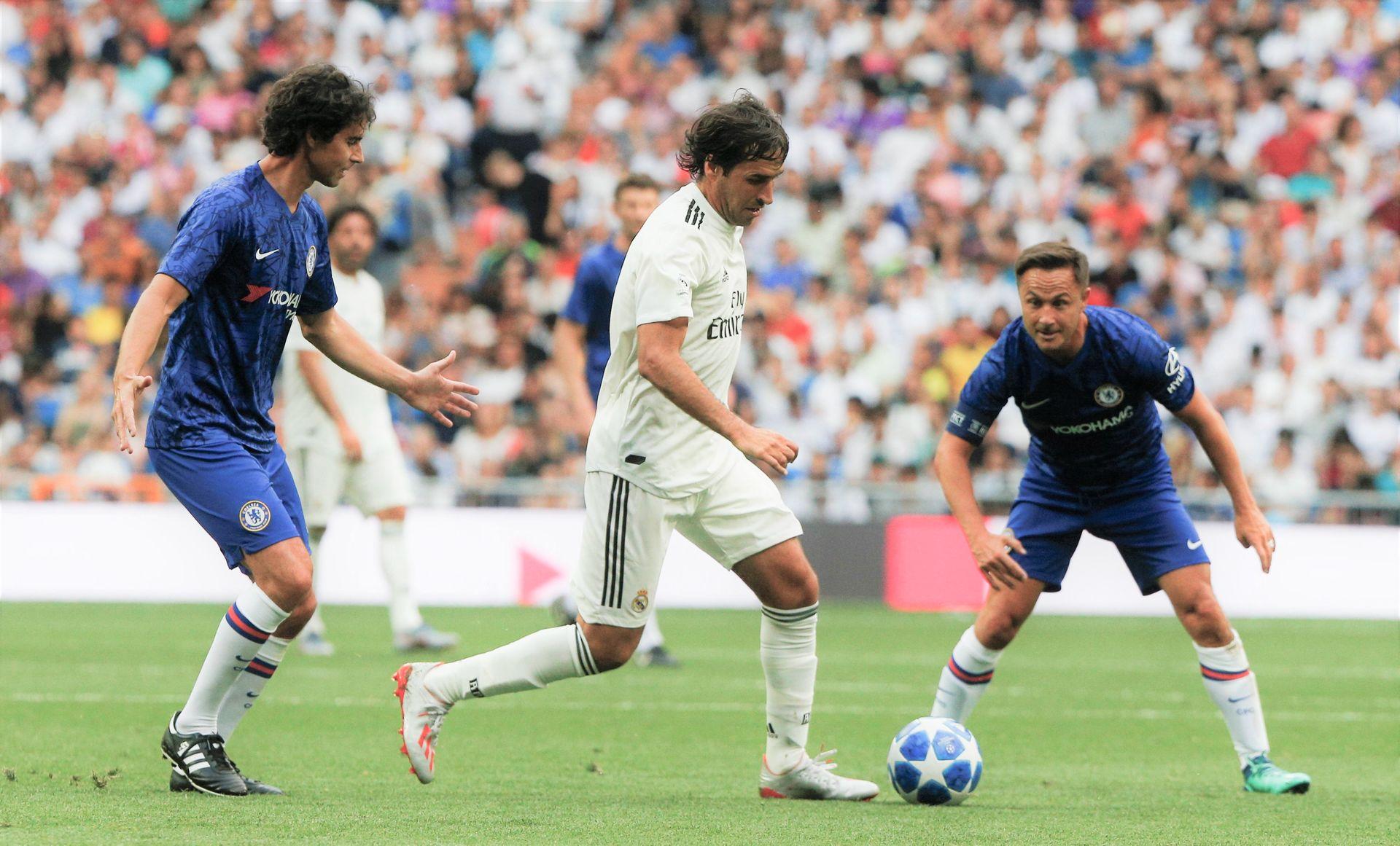 Raúl, en el último Corazón Classic Match entre Real Madrid y Chelsea, el pasado 29 de junio. | Cordon Press