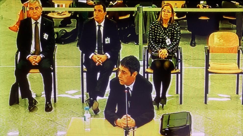 """Trapero echa balones fuera sobre los planes golpistas del Gobierno de Puigdemont: """"Yo no tenía ni idea"""""""