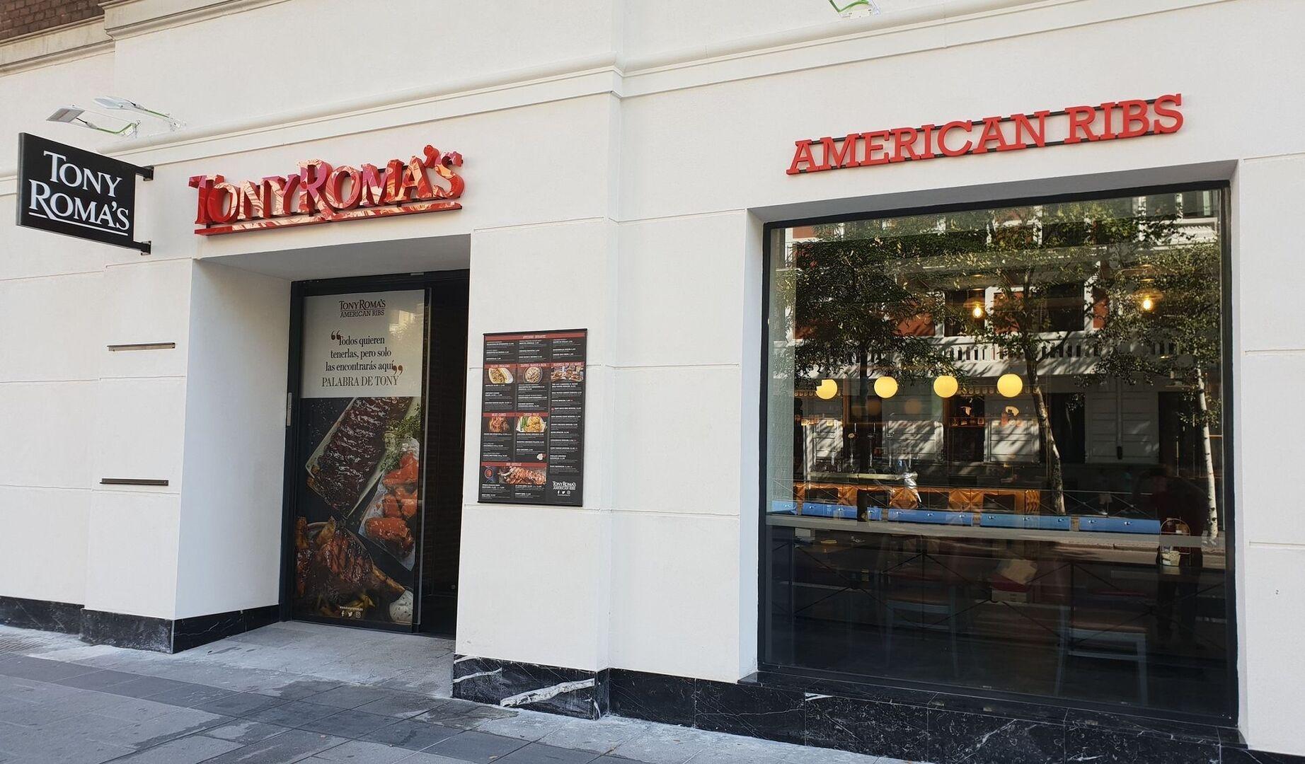Beer&Food (Tony Roma's y Carl's Jr) crecerá en España con la apertura de 25 restaurantes