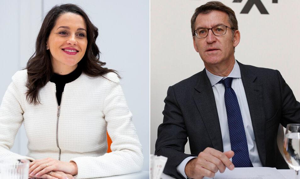 La negociación encalla en Galicia: Cs rechaza la oferta de Feijóo y dice que `coalición o nada`