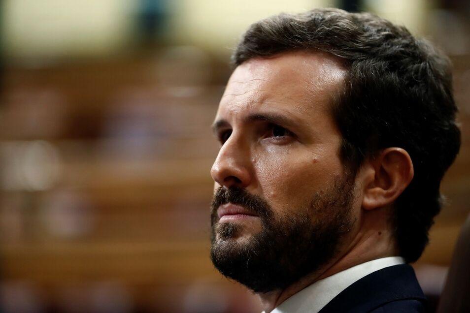 Casado, a Sánchez: `No estamos para mítines ni soflamas, no defraude a los españoles una vez más`