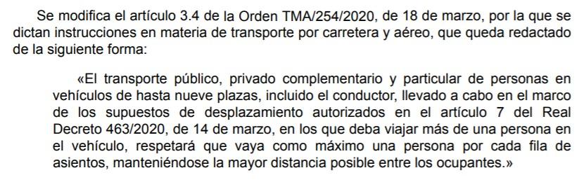 orden-ministerio-transporte-coches-priva