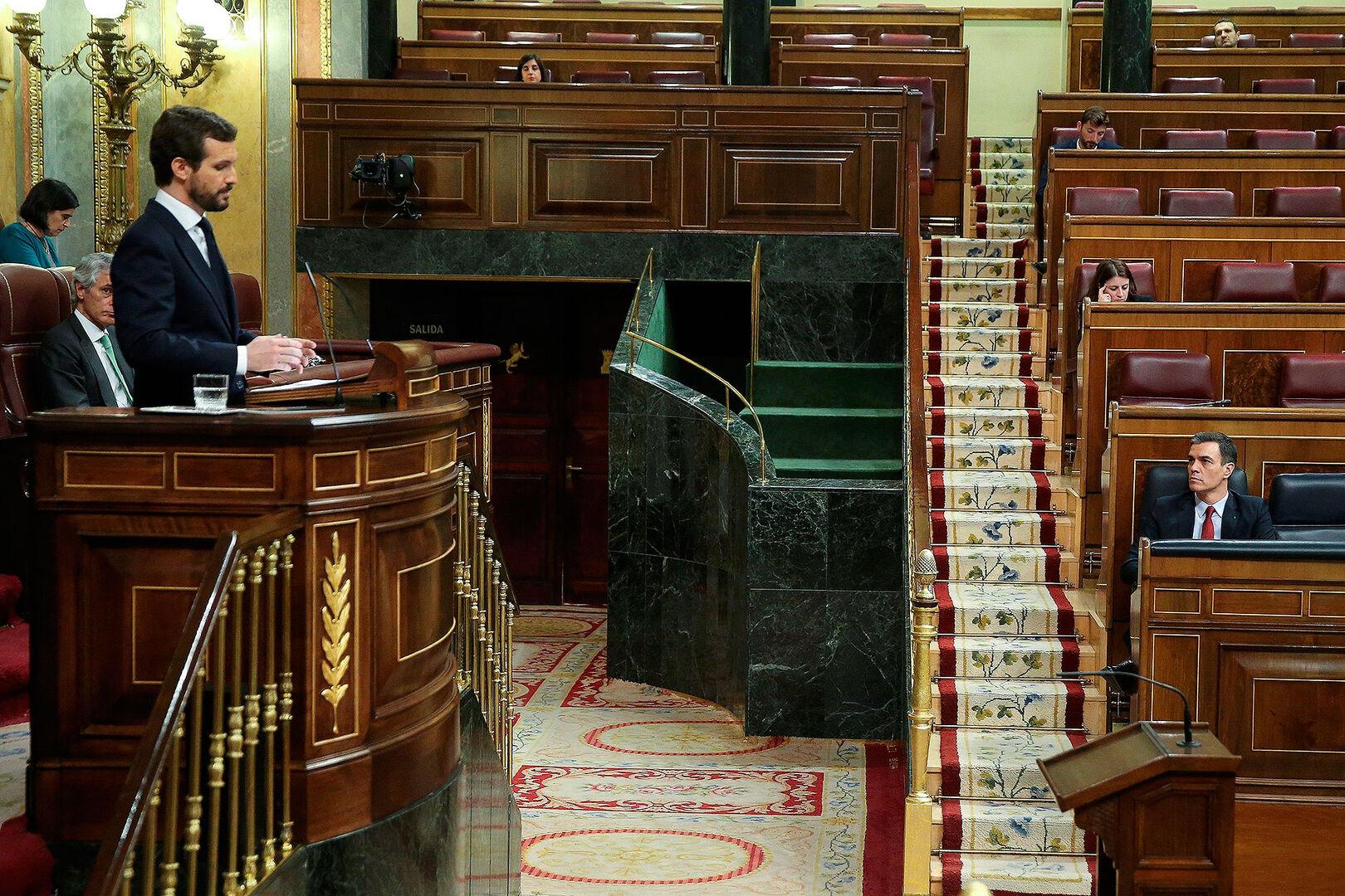 Un Estado de Alarma permanente, una Oposición permanentemente asustada