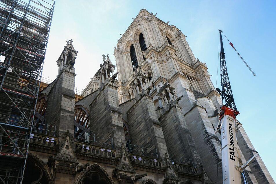 Espectacular incendio en la Catedral de Notre Dame de París Catedral-notredame-2020