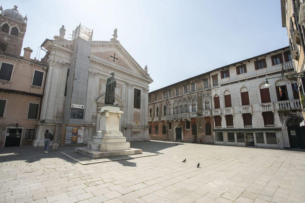 Seguro que has visto Venecia inundada ¿Pero la conoces sin agua? Venecia-iglesia-santa-fosca
