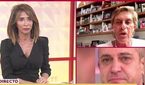 María Patiño y Chelo García Cortés, rotas por la muerte de la madre de Víctor Sandoval