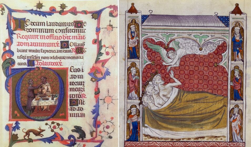 Christopher de Hamel, experto en manuscritos iluminados, reúne algunos de los textos más importantes y hermosos del continente europeo.