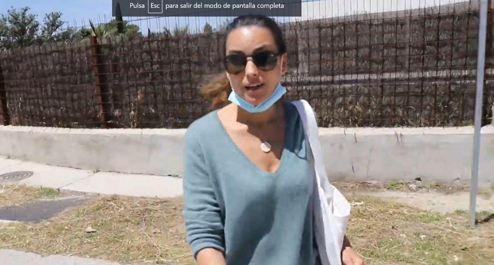 Primeras palabras de María Palacios tras la pérdida de Álex Lequio