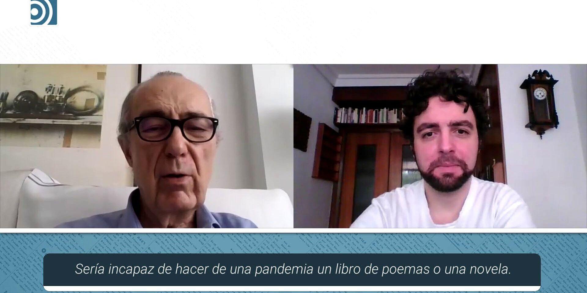 """Luis Alberto de Cuenca: """"La batalla está perdida: no sé por qué demonios no se puede ser español y a la vez patriota"""""""