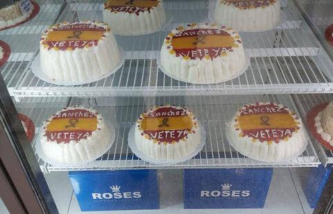 La confitería Roses ha dejado de elaborar pasteles contra el Gobierno después de la fuerte presión a la que ha sido sometida.