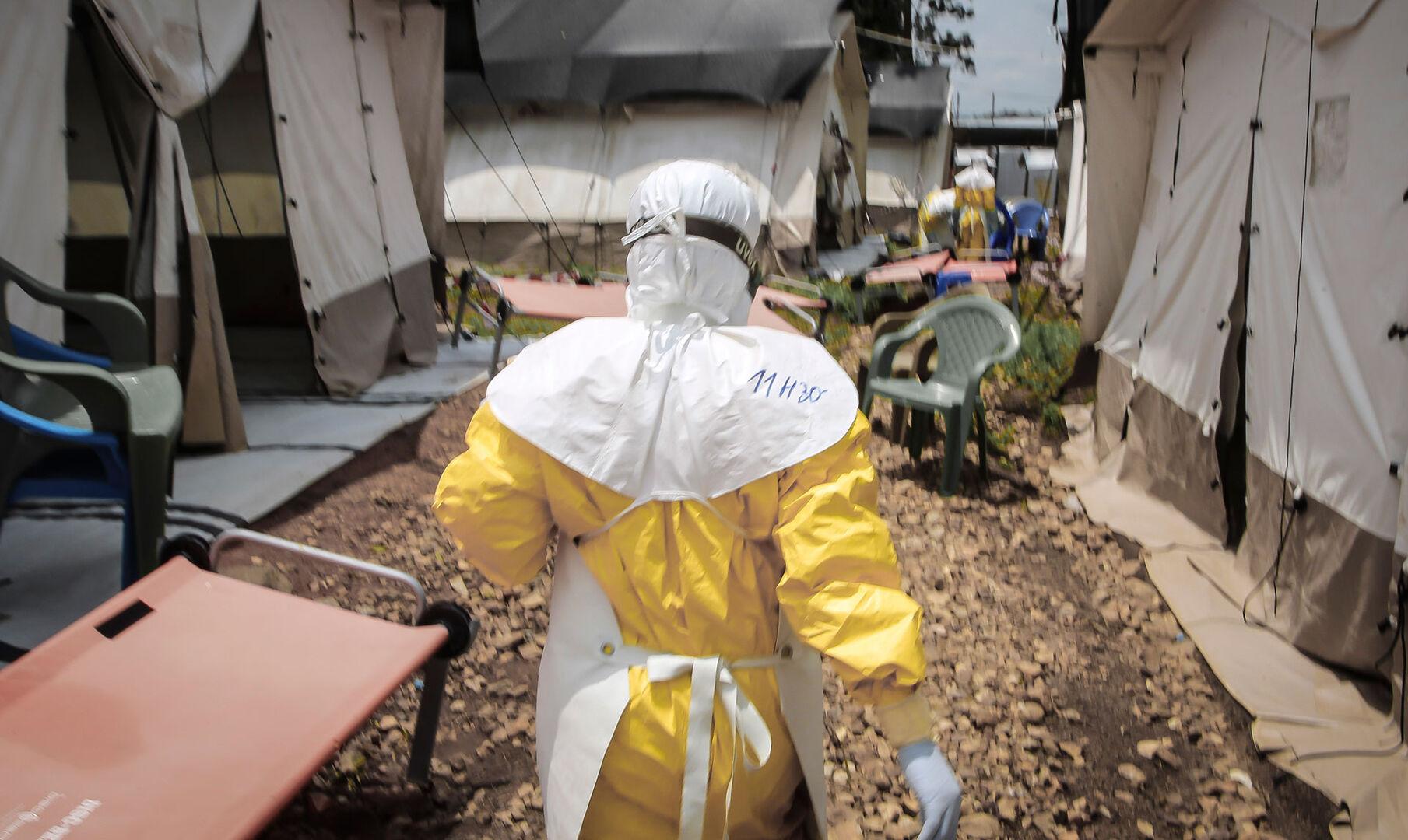 Nuevo brote de ébola se suma al coronavirus en el Congo