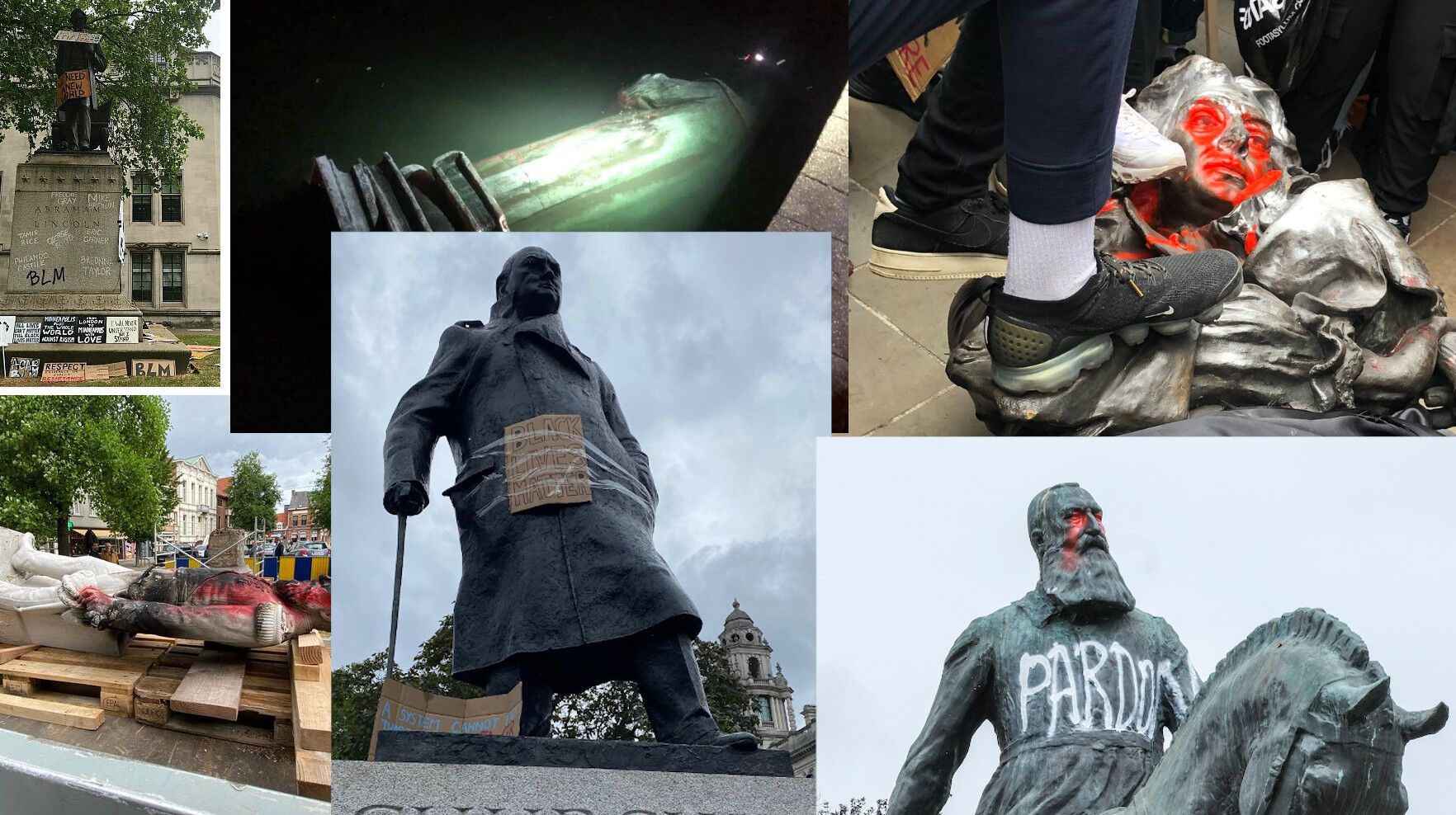 Primero destruyen las estatuas; luego serán los geranios - Santiago Navajas - Club de Libertad Digital