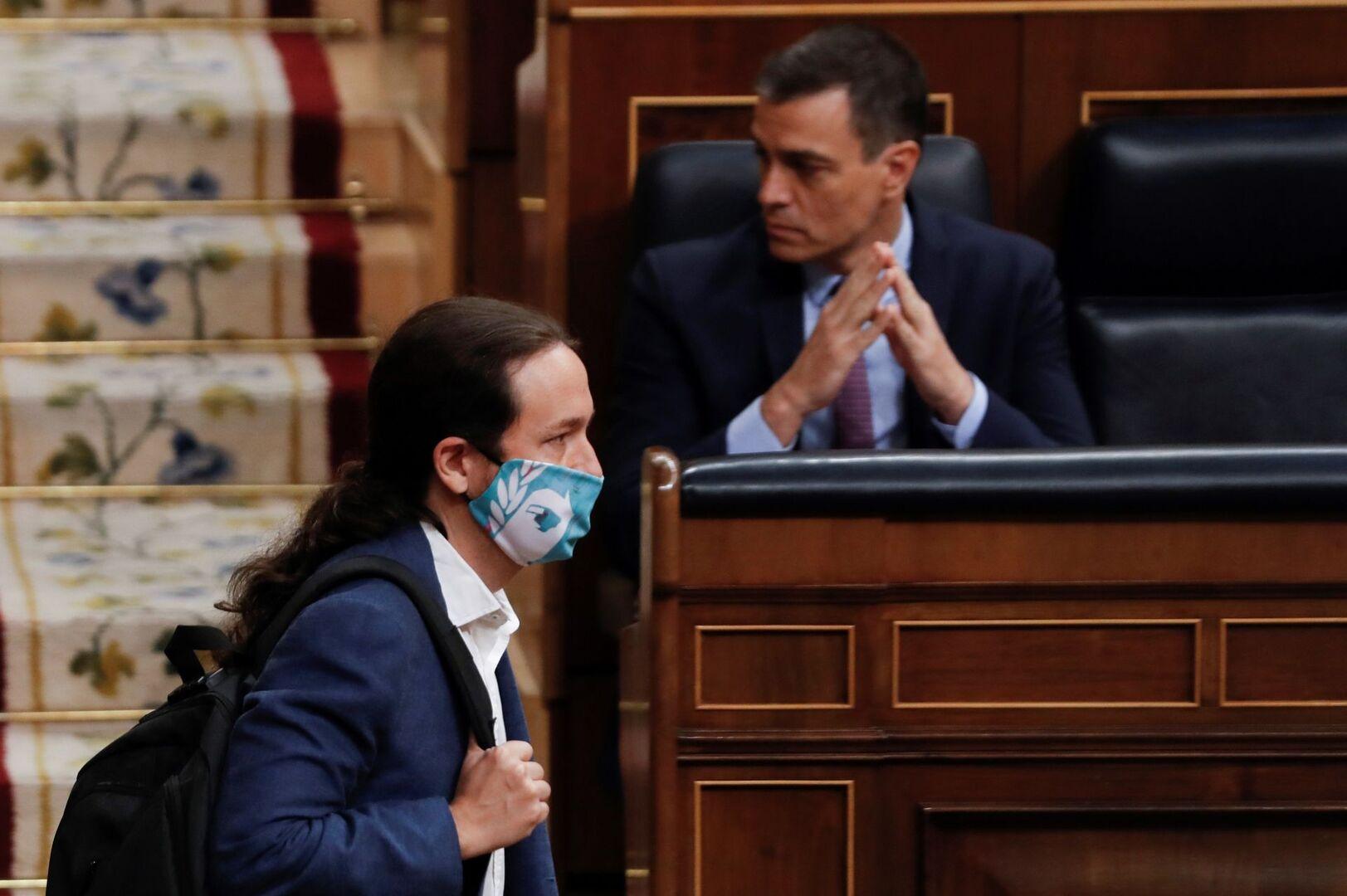PSOE y Podemos frenan la comparecencia de Iglesias en el Congreso por el 'caso Dina'