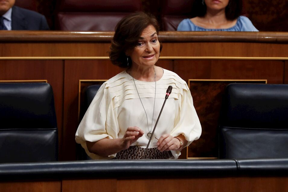 Con Calvo y representantes de su escuela como María Jesús Montero es imposible llegar a ningún acuerdo, por muy en riesgo que estén la economía y la salud de los españoles.