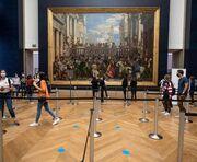 Reabre el Louvre, el museo más visitado del mundo