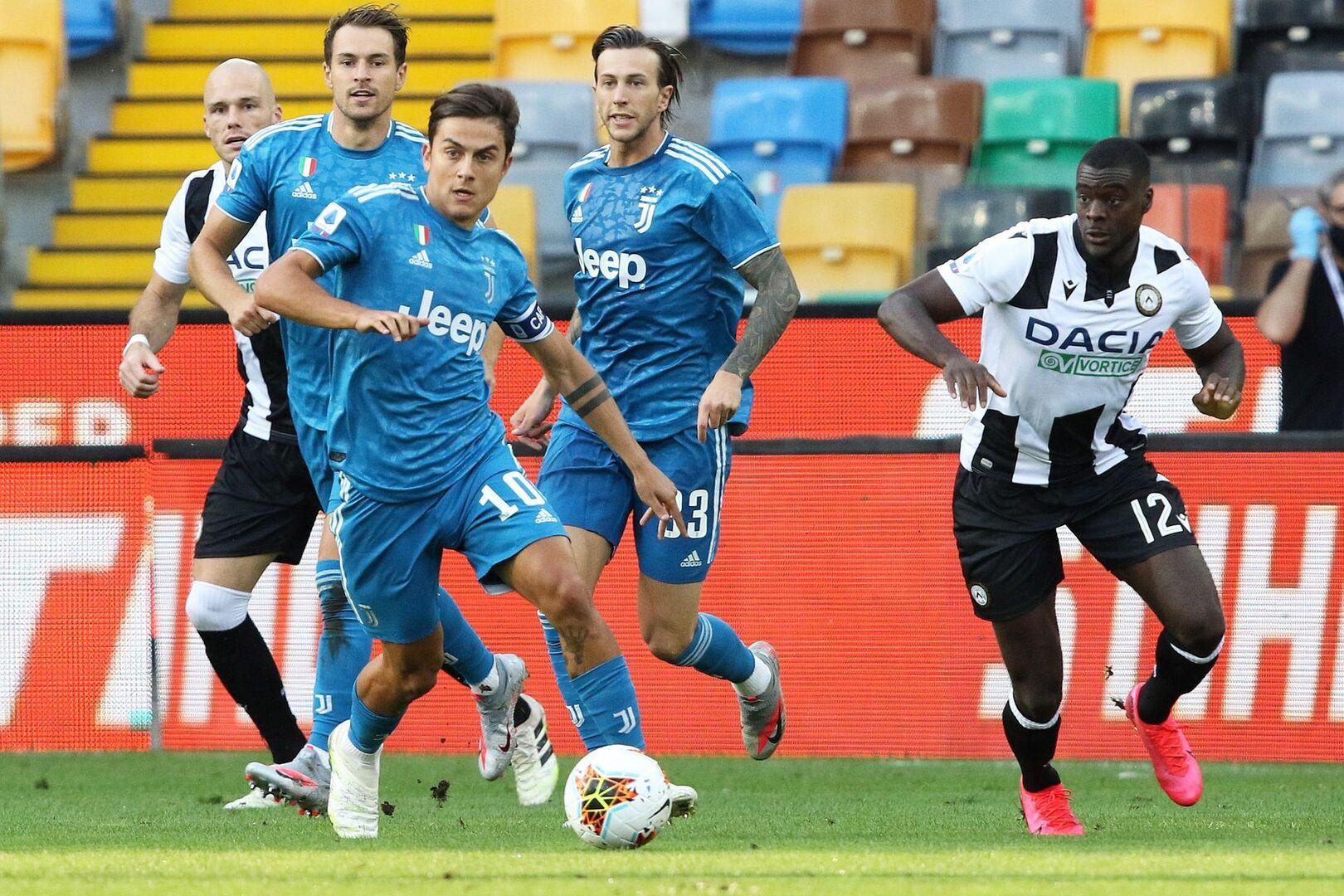 El Udinese aplaza el alirón de la Juventus