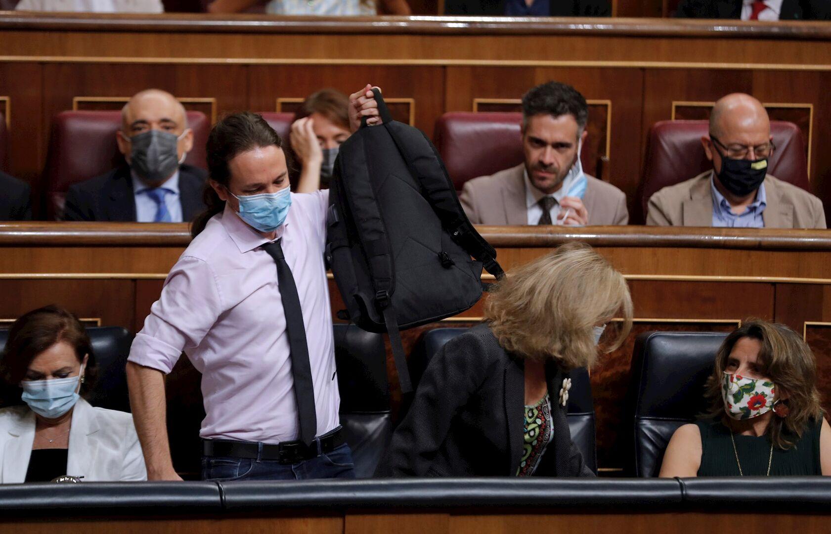 Iglesias vuelve a arremeter contra la justicia y cuestiona la decisión sobre los presos golpistas