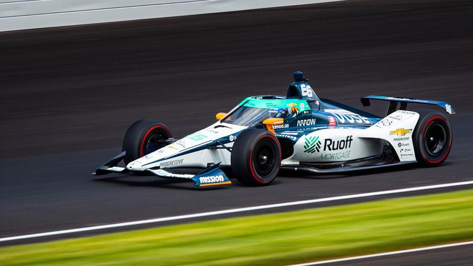 Fernando Alonso, 21 en las 500 Millas de Indianápolis