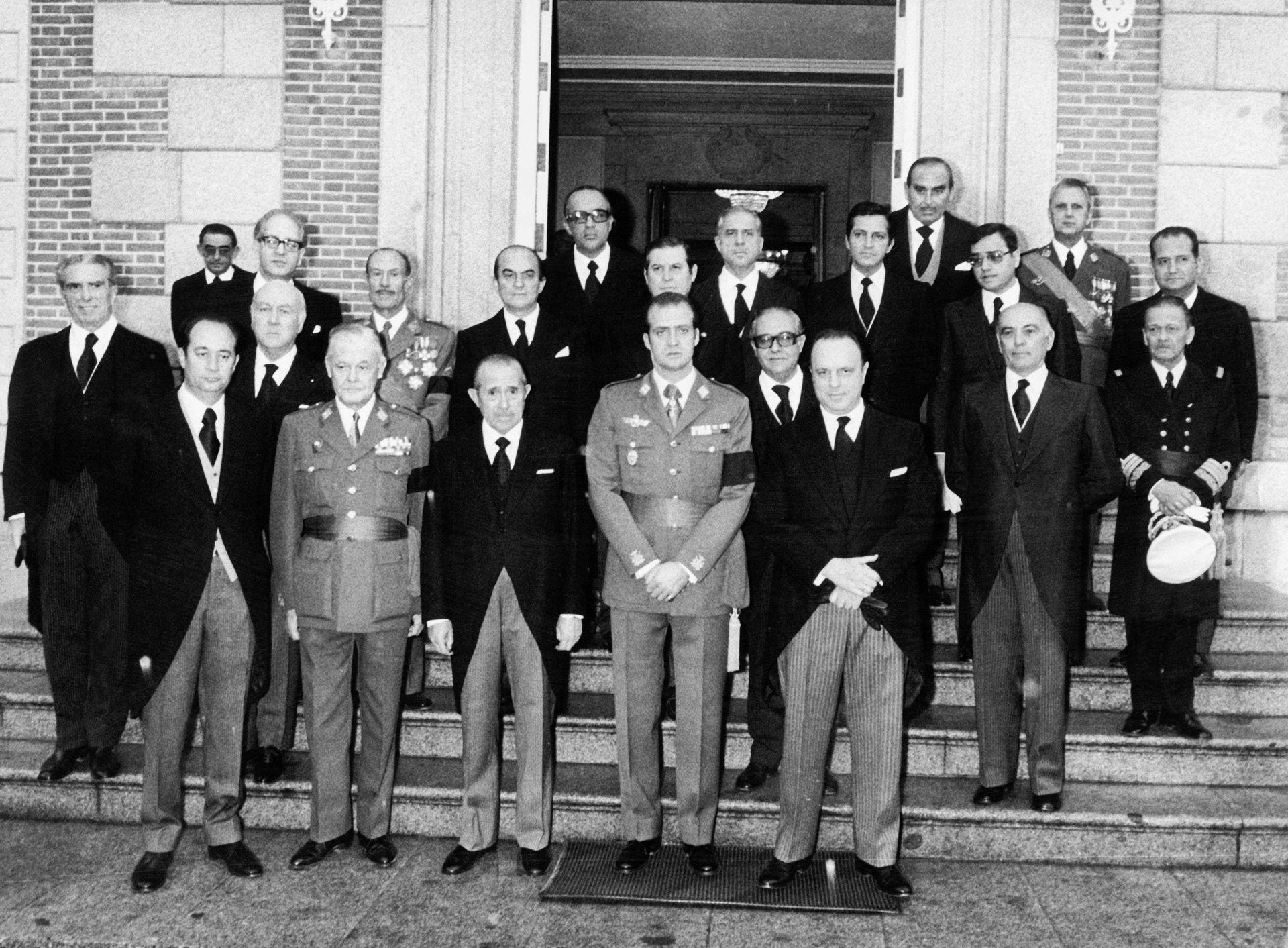 Gobierno de España, 1975