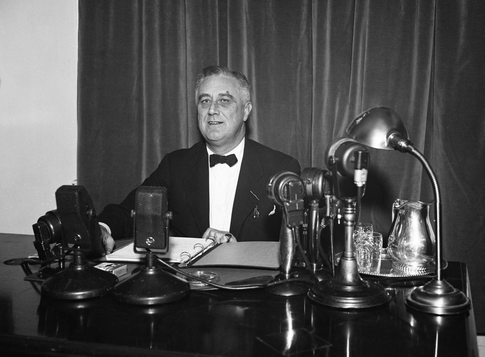 Franklin Delano Roosevelt en marzo de 1937