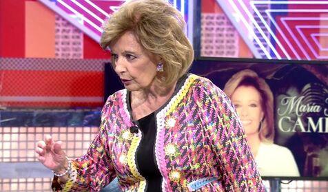 María Teresa Campos deja en shock al 'Deluxe' con su inesperado enfado