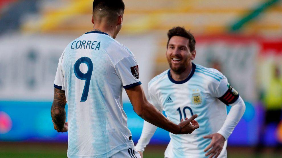Argentina asalta La Paz y gana a Bolivia (1-2)