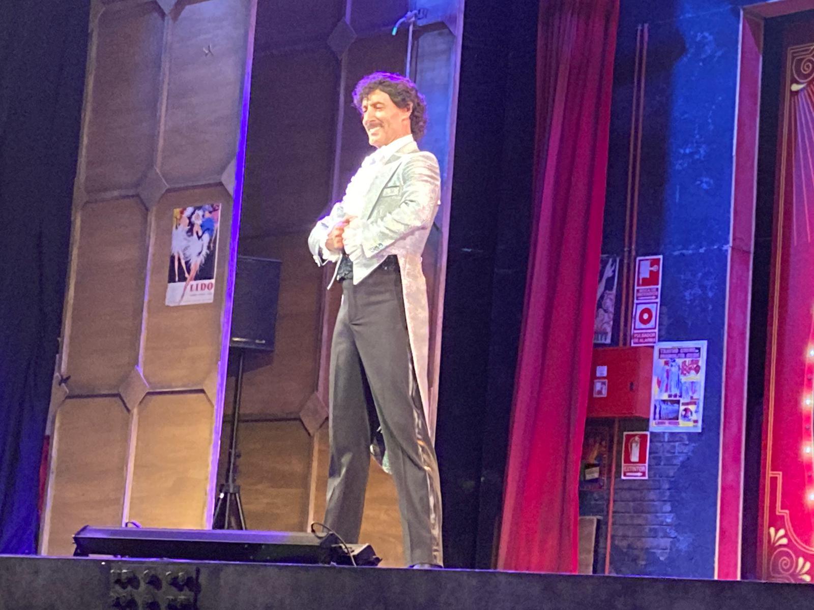 Manuel Bandera en el escenario | Archivo