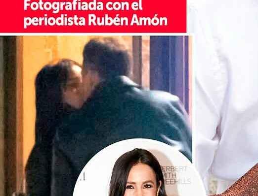 Begoña Villacís y Rubén Amón: las imágenes que confirman su noviazgo - Chic