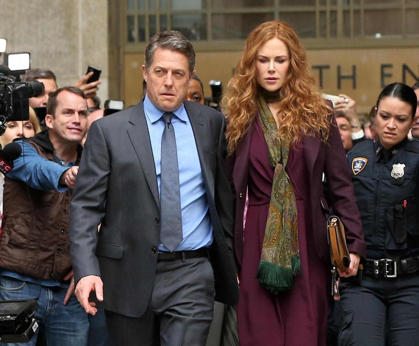 'The Undoing', con Nicole Kidman y Hugh Grant.   HBO