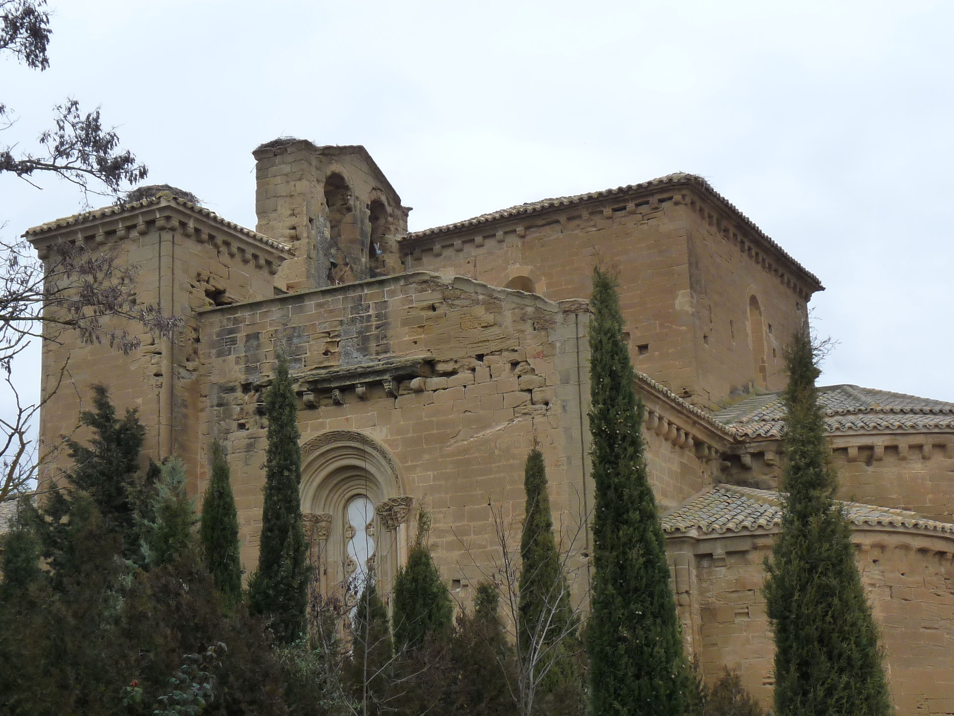 Monasterio medieval de Santa María de Sigena