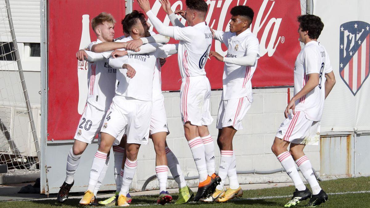 El Castilla de Raúl gana el miniderbi ante el Atleti B