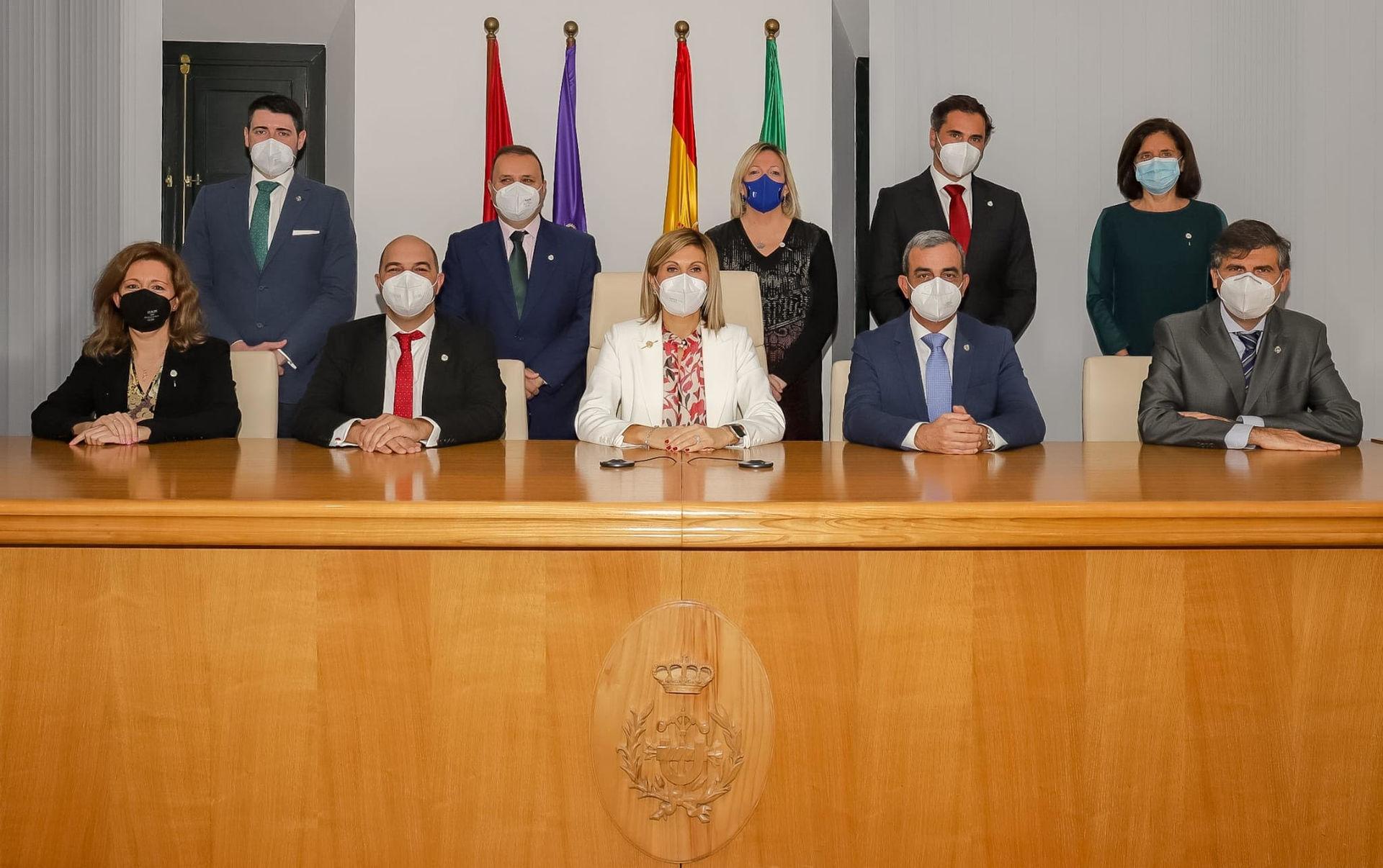 Toma de posesión de la nueva Junta de Gobierno de COGITISE