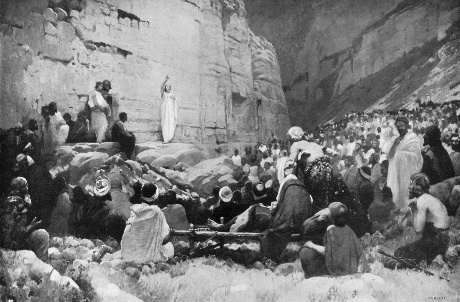 Sermón en el Monte, Londres 1926