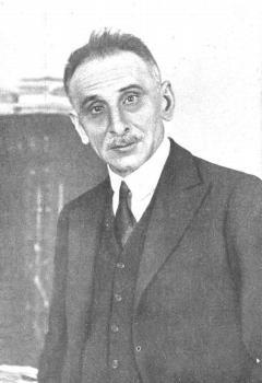 Melquíades Álvarez, en la década de 1920.