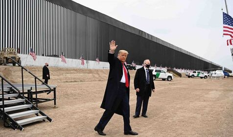Trump will visit the border with Mexico in the midst of the greatest migration crisis in recent decades