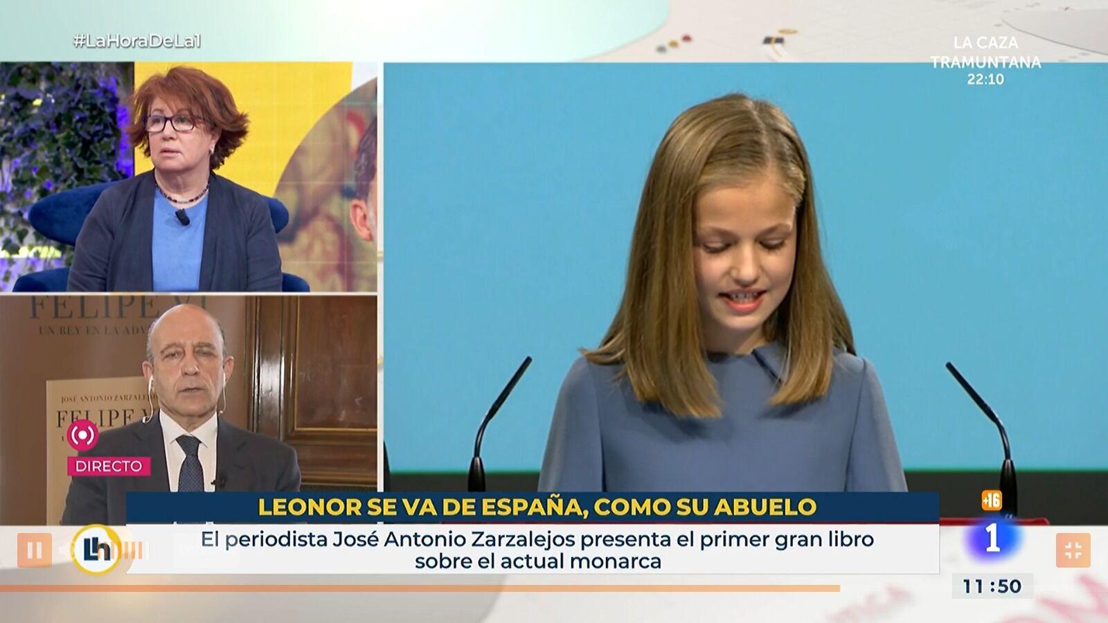 Resultado de imagen de Leonor se va de España, como su abuelo