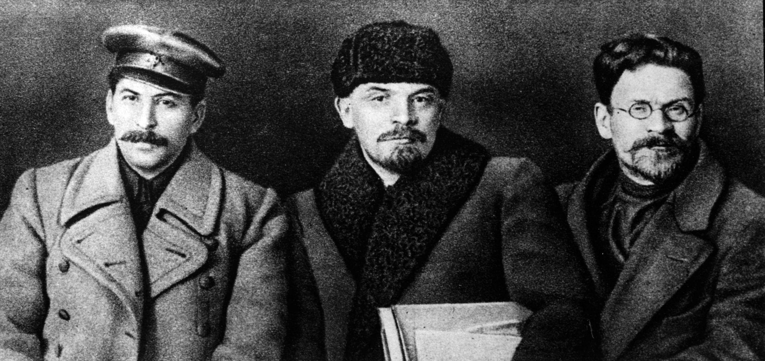 Stalin, Lenin y Kalinine en 1905