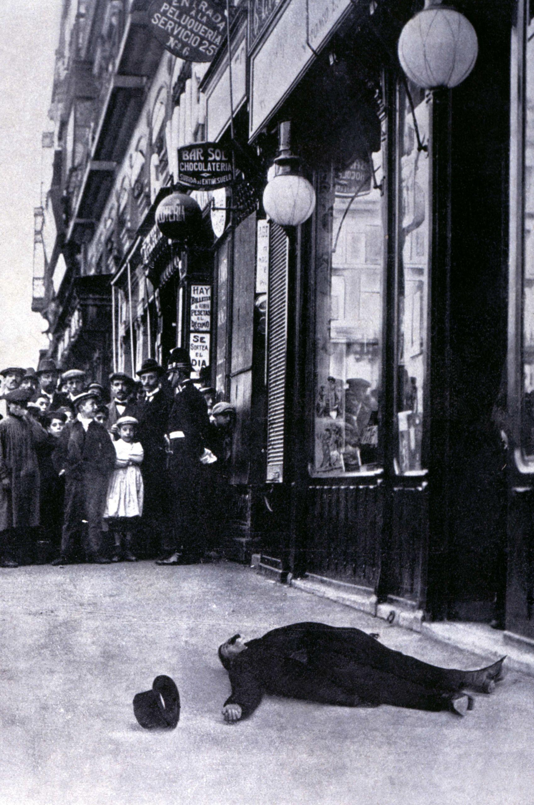 Asesinato de José Canalejas en noviembre de 1912