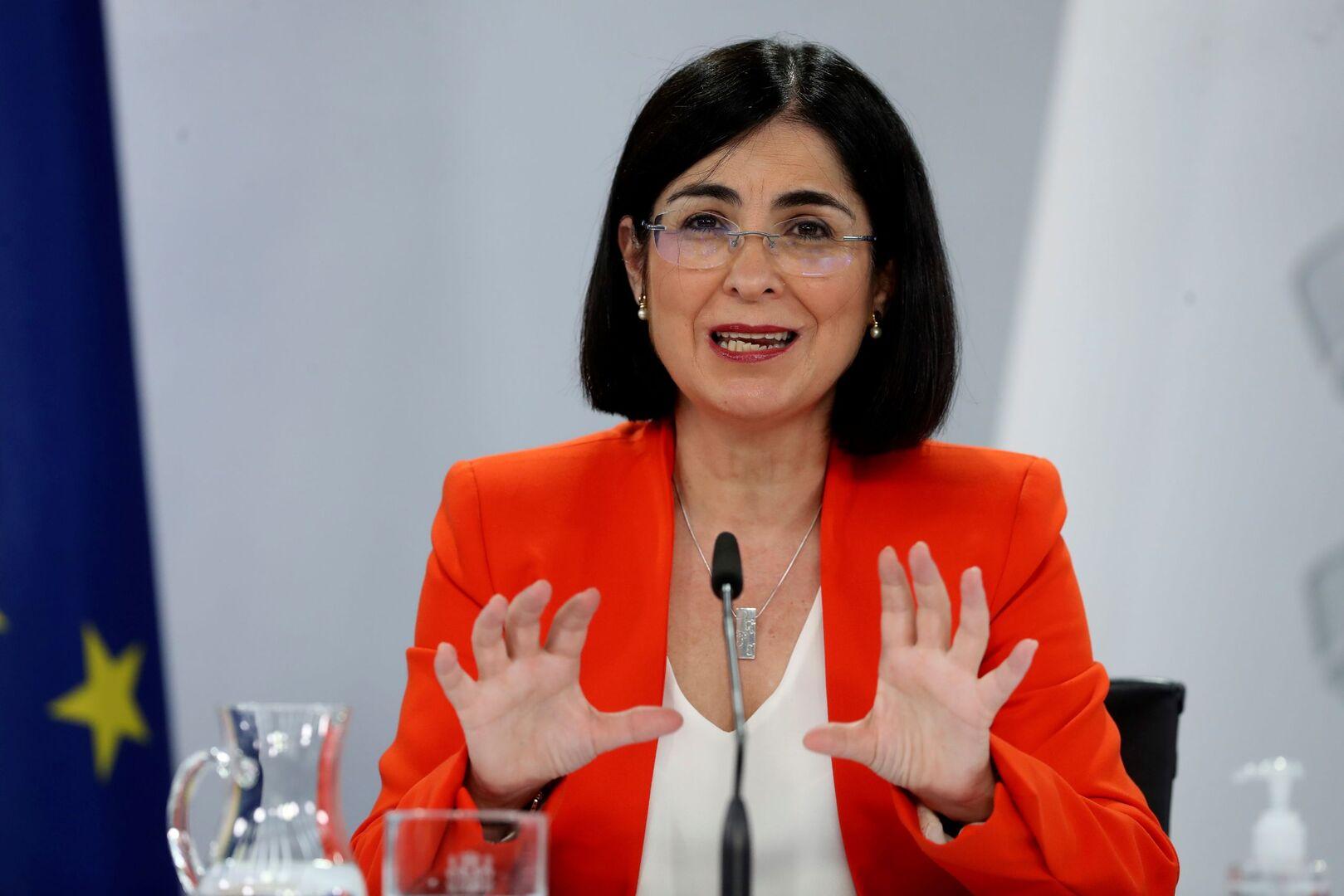 Carolina Darias, la ministra de sanidad más querida de la historia