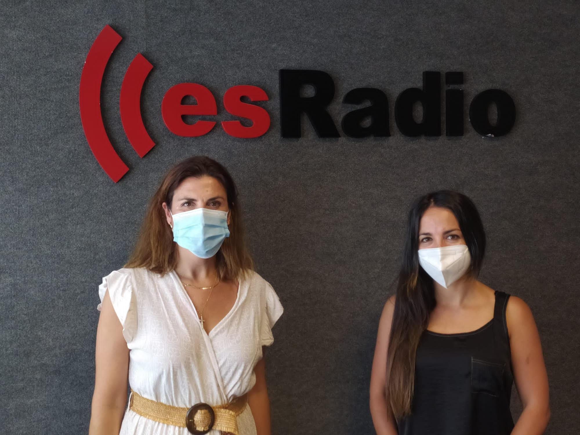 Paloma Carrasco y Laura Montes