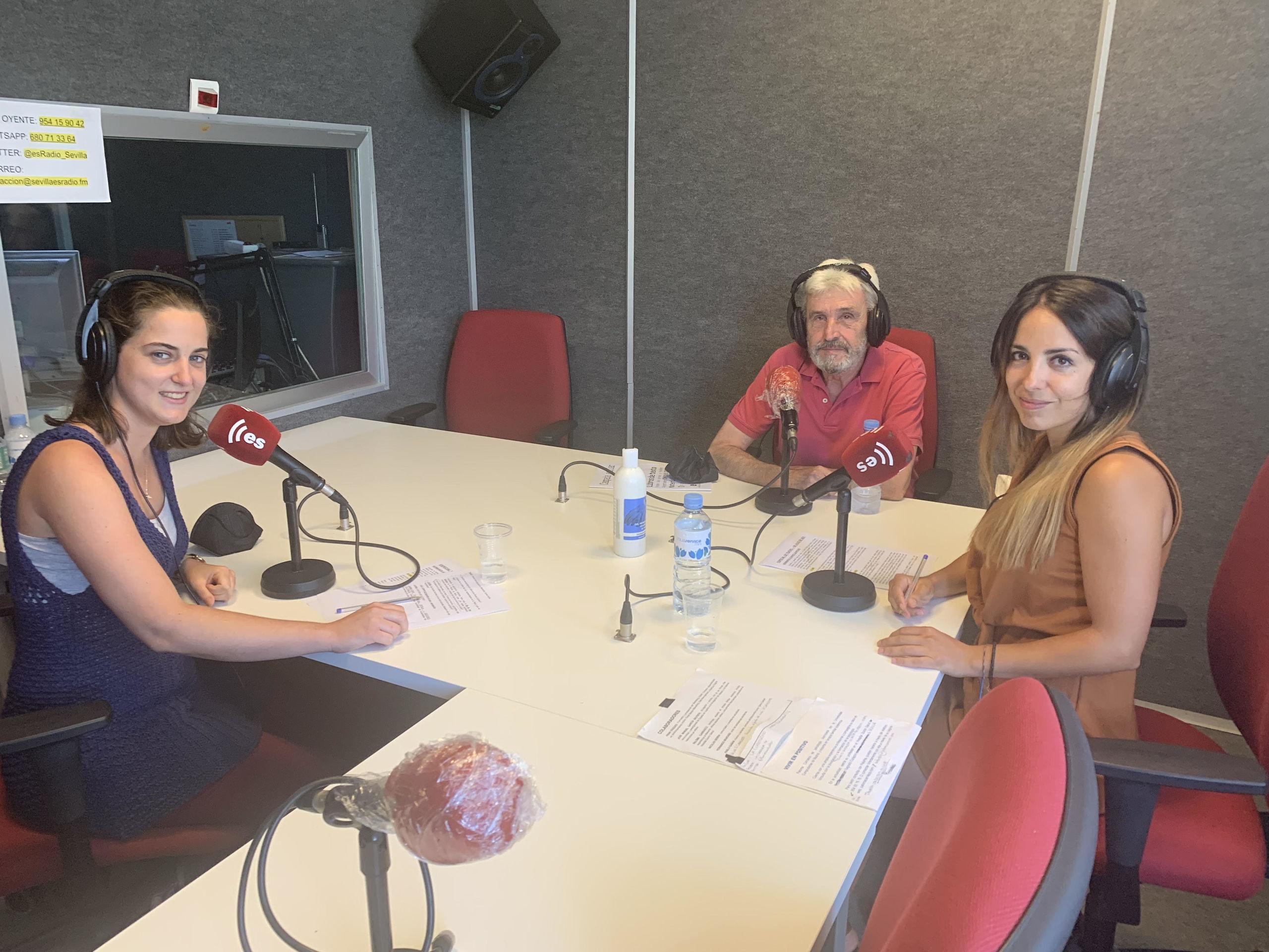Cristina Machín, Manuel Gómez y Laura Montes